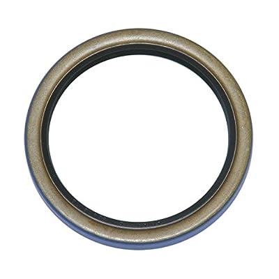 "TCM 172373TB-H-BX NBR (Buna Rubber)/Carbon Steel Oil Seal, TB-H Type, 1.750"" x 2.374"" x 0.313"": Industrial & Scientific"