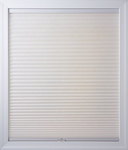 New Age Blinds Light Filtering Inside Frame Mount Cordless Cellular Shade 52-1/2 x 72-Inch Cotton