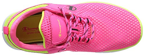 Champion Low Cut Shoe Gogo - Zapatillas de running Mujer Rosa - Pink (Fluo Pink 8747)