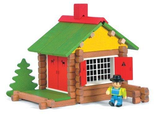 jeujura jouet en bois maison forestiere 70 pieces la caverne du jouet. Black Bedroom Furniture Sets. Home Design Ideas