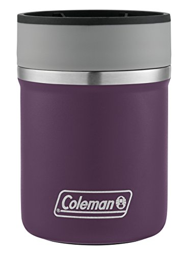 Coleman Lounger Stainless Steel Can Insulator, Violet,