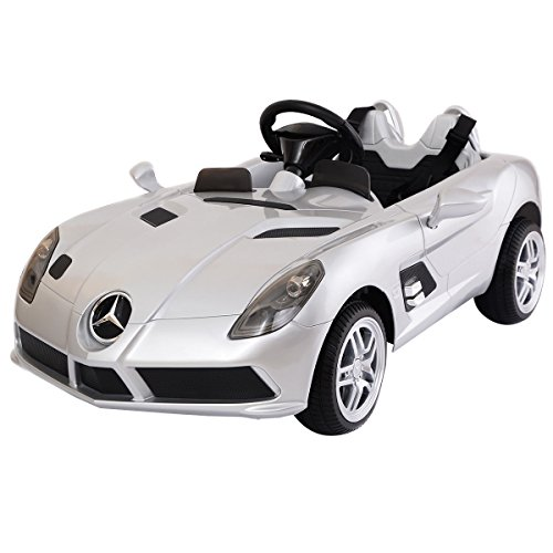 Step 2 Pink Power Racer (Siver Kids Ride On 12V Power Electric Car MP3 RC Remote Control With Ebook)