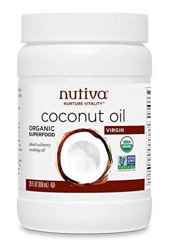 Nutiva Cold Pressed Unrefined Sustainably Coconuts
