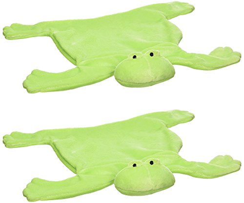 North-American-Bear-Baby-Cozy-Flatofrog-Security-Blanket-2-Pack