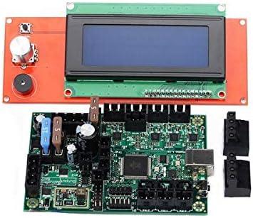 Nrpfall - Kit de Placa PCB y Pantalla LCD para Impresora 3D (1 ...