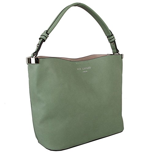 Green Tote A Bag Shopper Bag Bag Cuckoo Handbag In Red Womens YRxwEvq7x