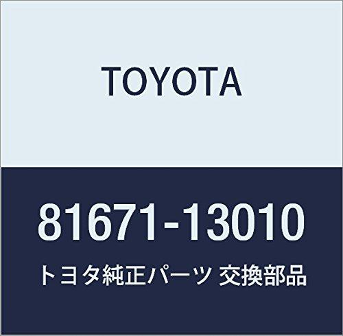 Toyota 81671-13010 Back Up Lamp Lens