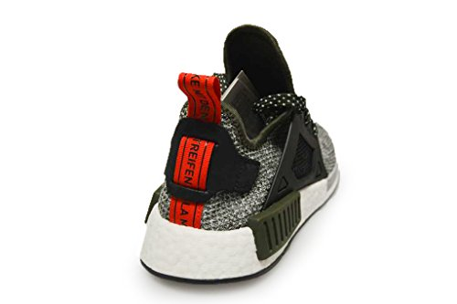 Adidas Originals Nmd_xr1 Hommes Chaussures De Course Baskets Formateurs (uk 7 7,5 40 Eu 2/3, Cargo De Nuit Vert Cq1954 Noir)