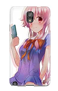 Hazel J. Ashcraft's Shop Lovers Gifts 7883941K55242677 Case For Galaxy Note 3 With Nice Mirai Nikki Appearance