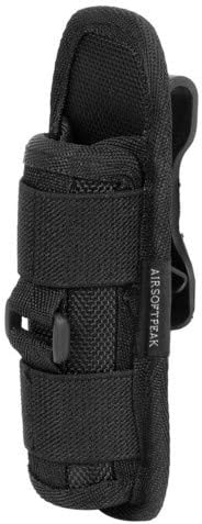 Details about  /Tactical Nylon Molle Light Holster Flashlight Holder Case Army Flashlight Pouch