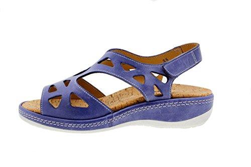 Amples Sandales Confortables Cuir à 1905 Femme en PieSanto Semelle Chaussure Amovible Jeans Confort SOgZPY