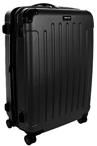 Kenneth Cole Reaction Renegade Collection 28'' Expandbale Spinner Upright - Black by Kenneth Cole REACTION