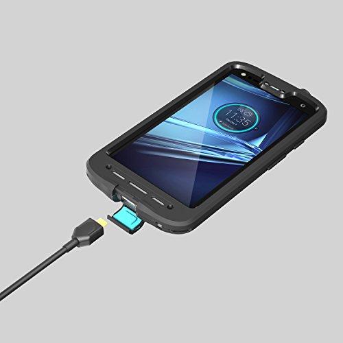 quality design 8aceb f9f70 LifeProof FRĒ Series Waterproof Case for Motorola Droid Turbo 2 ...