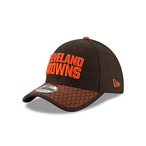 ジョリーピカリング船尾ニューエラ (New Era) 39サーティ キャップ - NFL 2017 サイドライン クリーブランド?ブラウンズ (Cleveland Browns)