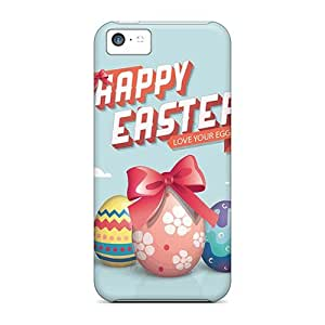 High-end Case Cover Protector For Iphone 5c(happy Easter Eggs Illustration)