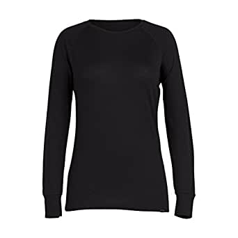 Ridge Merino Women's Inversion Crew X-Small Black