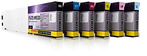 Bordeaux Fuze MS33 Mild Solvent Ink for Mimaki JV & CJV Printers - 440ml cartridge - Bordeaux Black