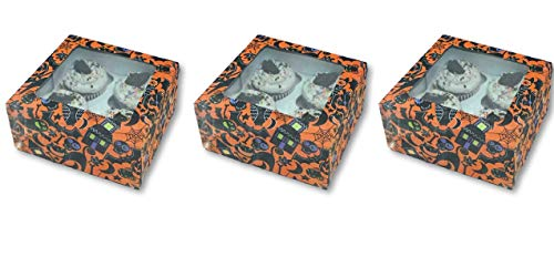 Halloween Goodie Boxes Set of 3-6.25