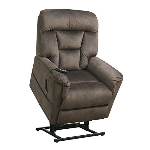 Pulaski DS-A279-016-350 Light Brown Dual Motor Fabric Lift Chair