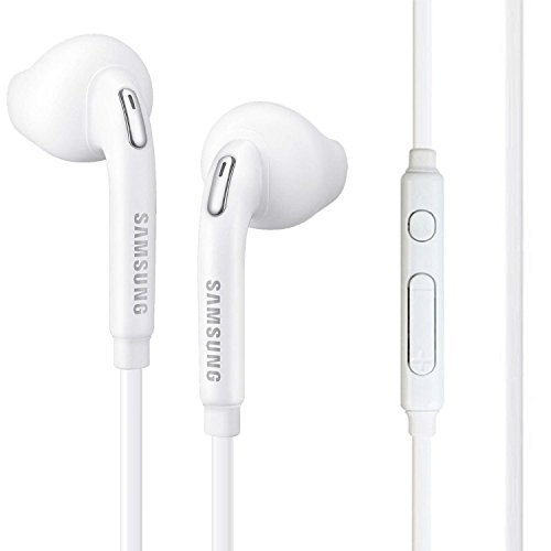 (Samsung OEM Wired 3.5mm Headset with Universal compatibility EO-EG920LW (Jewel Case w/ Extra)