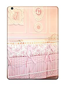 Top Quality Case Cover For Ipad Air Case With Nice Pink Baby Girl Crib Appearance