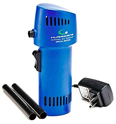 Best Canned Compressed Air Alternative - The O2 Hurricane 220+ MPH Canless Air Special Edition by Canless Air System