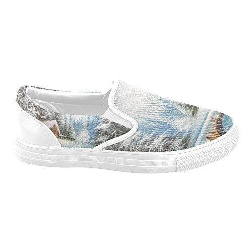 Unieke Debora Pas De Sneakers Van Modewomens Aan Ongebruikelijke Instappers Van Het Loafers Opslorpend Canvas Multicoloured43