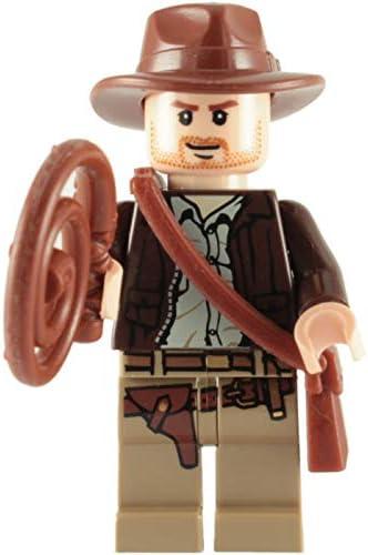 LEGO Indiana Jones Professor Henry Jones Key Chain Brand New Minifig