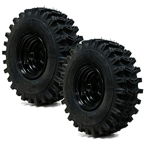 2PK 15x5.00-6 Carlisle X-Trac 2PR Snow Blower Tire & Wheel Assembly Snow Hog