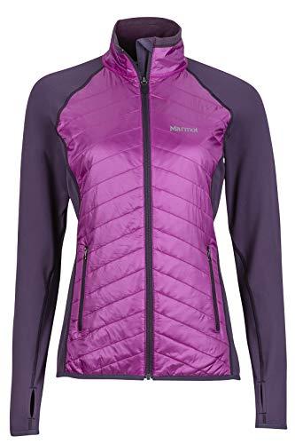 (Marmot Women's Variant Jacket, Nightshade/Purple Orchid, Large)
