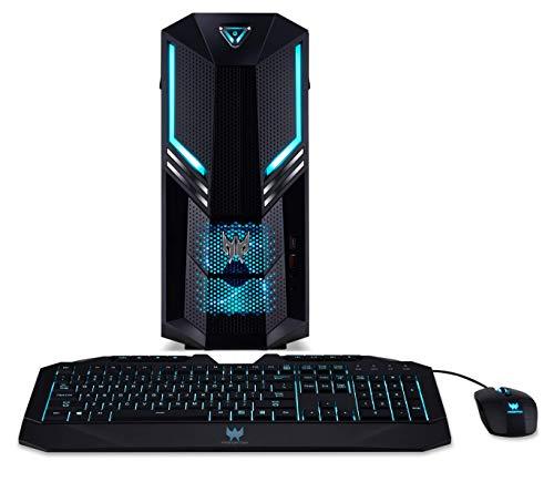 Acer Predator Gaming Desktop, Ci7-8700, 16GB RAM, 1TB HDD, 256GB SSD, GTX 1070, Windows 10, Includes Mouse and Keyboard