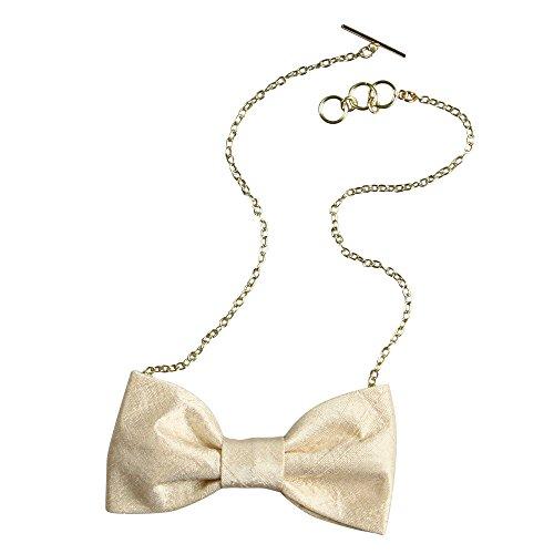 Ivy Lane Design with Chain Silk Dupioni Bow Tie ()