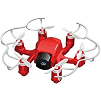 Onlyesh FQ777 126 Mini Quadcopter RC Helicopter Drone 2.4Ghz 6-Axis Gyro with 2MP HD Camera