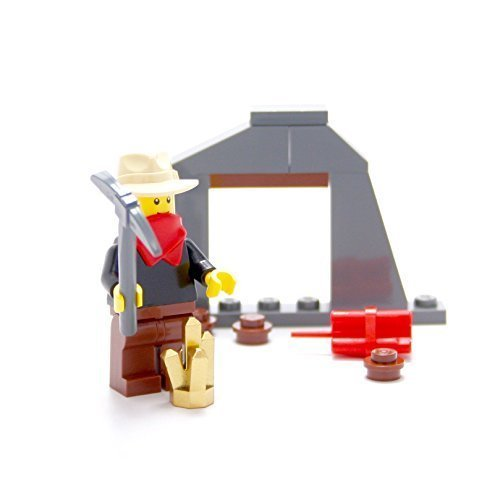 LEGO Collectible Minifigures 2011 Series OLD WEST GOLD PROSPECTOR (Loose Figure)