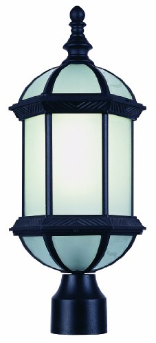 Trans Globe Lighting PL-4186 BK Outdoor Wentworth II 21