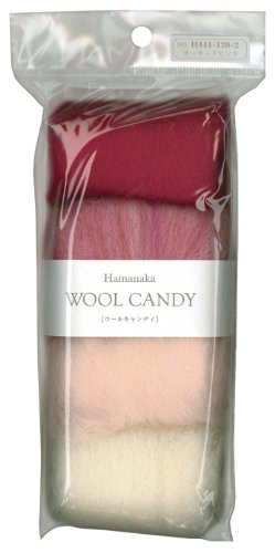 (Hamanaka wool Candy 4 color set (Orchid Pink) # 2 (japan import))