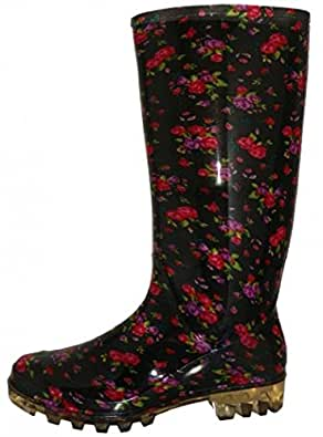 Shoes 18 Womens Classic Rain Boot Black Size: 5 US