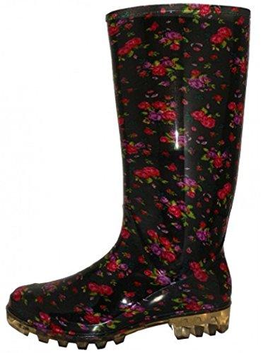 Classic Mini Boot Rain Shoes 18 Rose Womens ZBqOf
