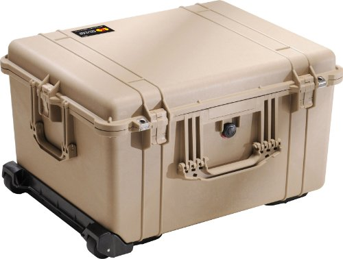 Pelican 1620 Camera Case With Foam (Desert Tan) by Pelican