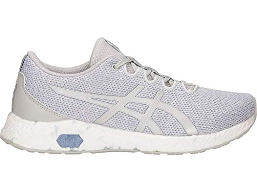 - ASICS Women's HyperGEL-Yu Running Shoes, 9.5M, Glacier Grey/Silver