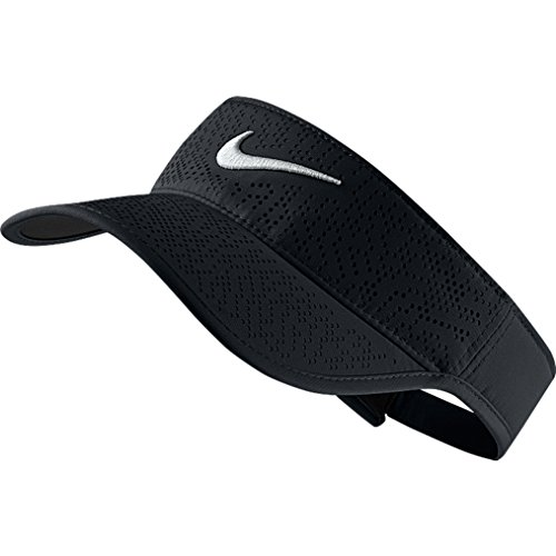 NIKE Damen Visor Tech 2021, Black/White, One Size, 742709-010