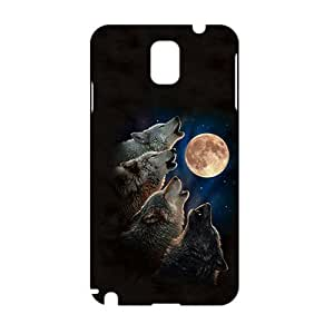 Angl 3D Wolves Phone For Case Iphone 5/5S Cover