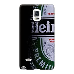 Samsung Galaxy Note 4 PJV1988tmMU Provide Private Custom Lifelike Heineken Beer Image Durable Hard Cell-phone Case -hardcase88