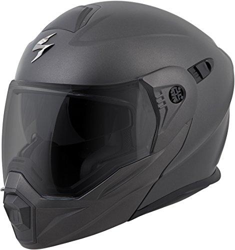 ScorpionEXO Unisex-Adult Modular/Flip Up Adventure Touring Motorcycle Helmet (Anthracite, Medium) (EXO-AT950 Solid) - Replacement Cheek Parts Pads