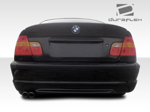 Duraflex Replacement for 1999-2005 BMW 3 Series M3 E46 4DR CSL Look Rear Wing Trunk Lid Spoiler- 1 Piece ()