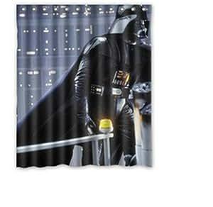 Whitexue Star Wars Custom Waterproof Shower Curtain 60x72 inch Surprised Gift