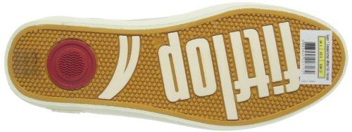 Fitflop Super T Sneaker - Zapatillas de cuero mujer blanco - Urban White
