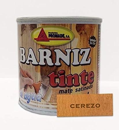 PROMADE - Barniz tinte satinado al agua avellana 375 ml