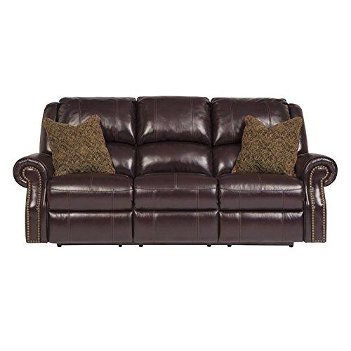 Cherry Fabric Sofa - 8