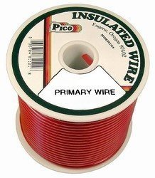 Red 100' Primary Wire - 8
